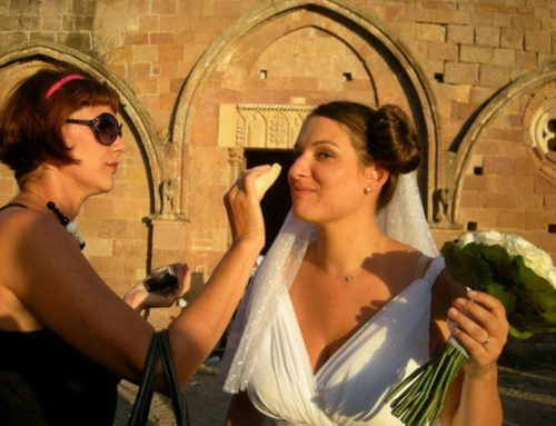 Backstage Sposa in Sardegna!